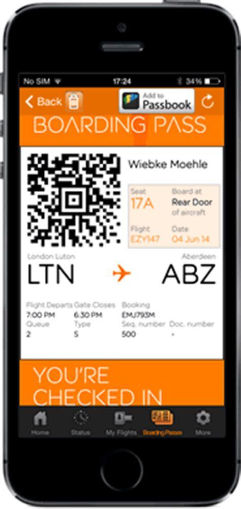 easyjet check in mobile mobile boarding passes easyjet