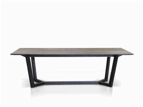 Black Dining Table by Furniture Louis Black Glass And Steel Dining Collection
