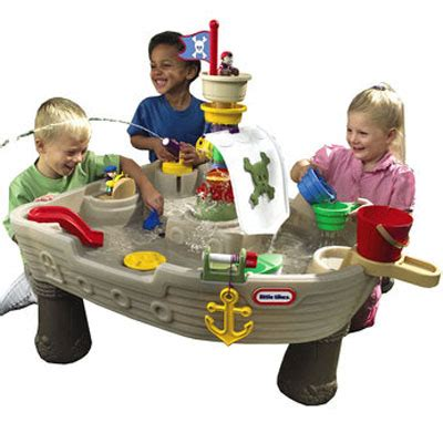tikes anchors away pirate ship water play table tikes anchors away water play table your