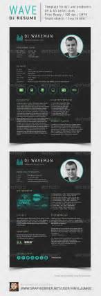 wave dj resume press kit dj and press kits