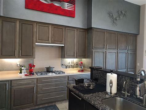 Driftwood Kitchen Cabinets by Customer Pictures For Driftwood Finish Diy Driftwood