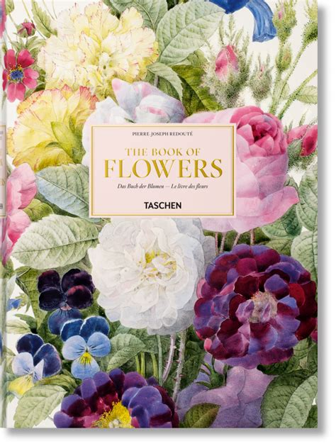 Kaos T18 Wolf Flower joseph redout 233 the book of flowers taschen books