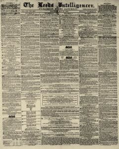 Leeds Birth Records Leeds Intelligencer Newspaper Archives May 24 1862