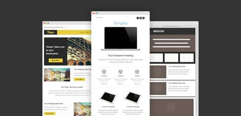 free responsive email newsletter templates 30 free responsive email and newsletter templates