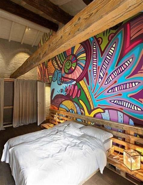 how to paint a mural on a bedroom wall mural painting on wall home design
