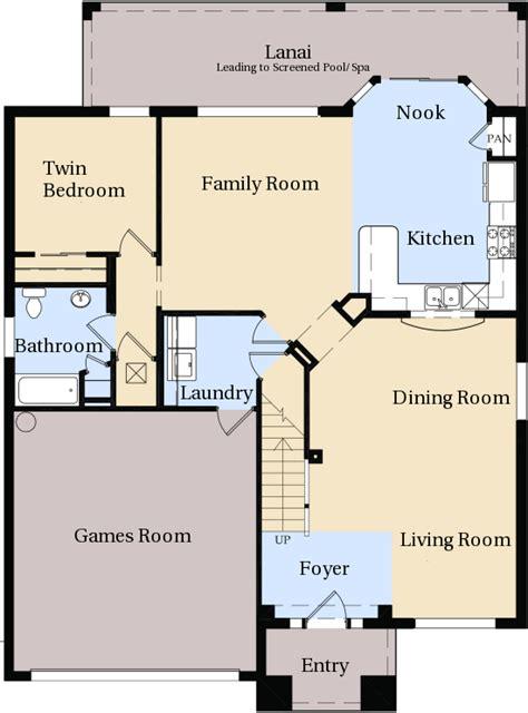 Master Bedroom And Bath Floor Plans windsor hills kissimmee villa floor plan