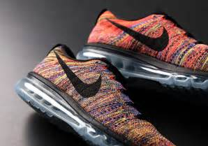 multi color air ones the famed nike flyknit air max multi color whatarethose