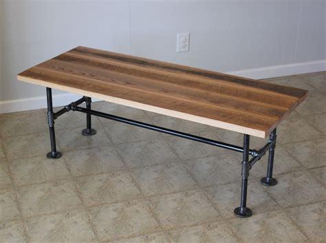 industrial wood coffee table custom reclaimed barn wood coffee table with industrial