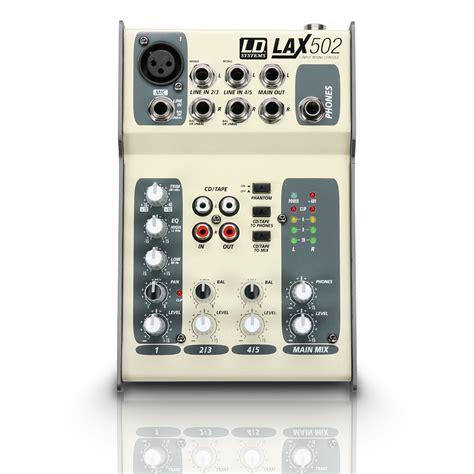 Audio Mixer Necxo Ld 1200m ld systems lax502 image 940200 audiofanzine