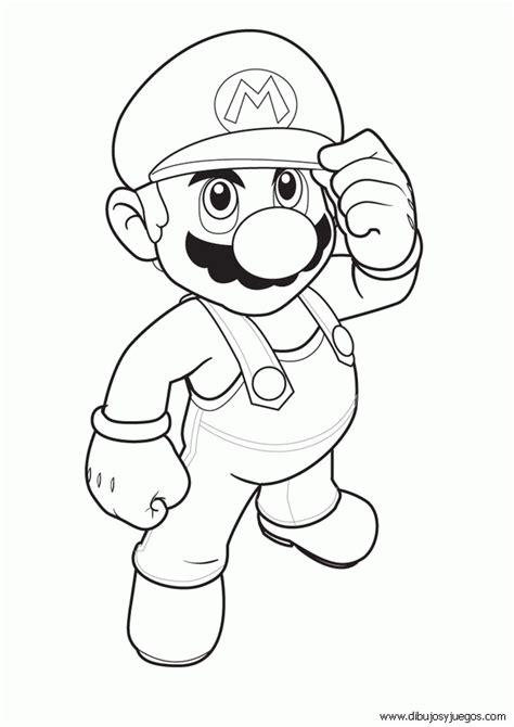 dibujos realistas videojuegos dibujos mario bross 002 dibujos y juegos para pintar y