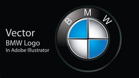 logo bmw vector create bmw vector logo in adobe illustrator cs5 youtube