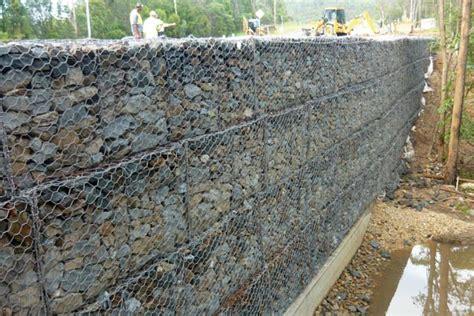 Upper Coomera Gabion Retaining Wall Project Concrib Brisbane Gabion Garden Wall
