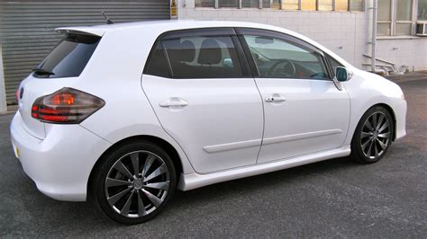 Toyota Finder 2007 Toyota Blade Is It The Most Customised Blade You