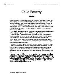 Essay On Poverty by Argumentative Essay On Child Poverty Writefiction581 Web Fc2