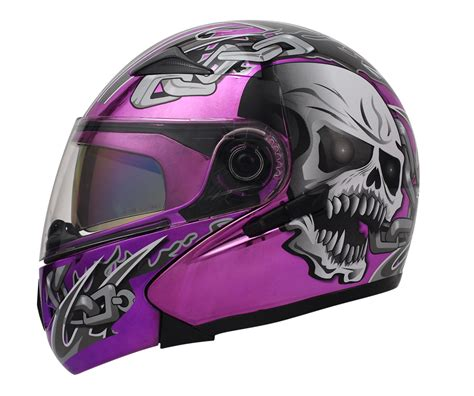 purple motocross helmet globe keiko motorcycle helmet underground masei helmets