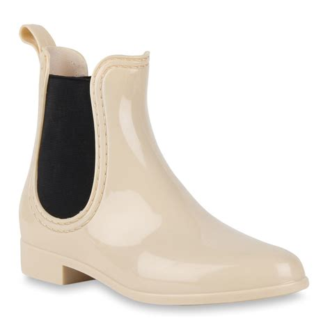 Lack Stiefeletten Damen by Ausgefallene Damen Gummistiefel Stiefeletten Lack Schuhe