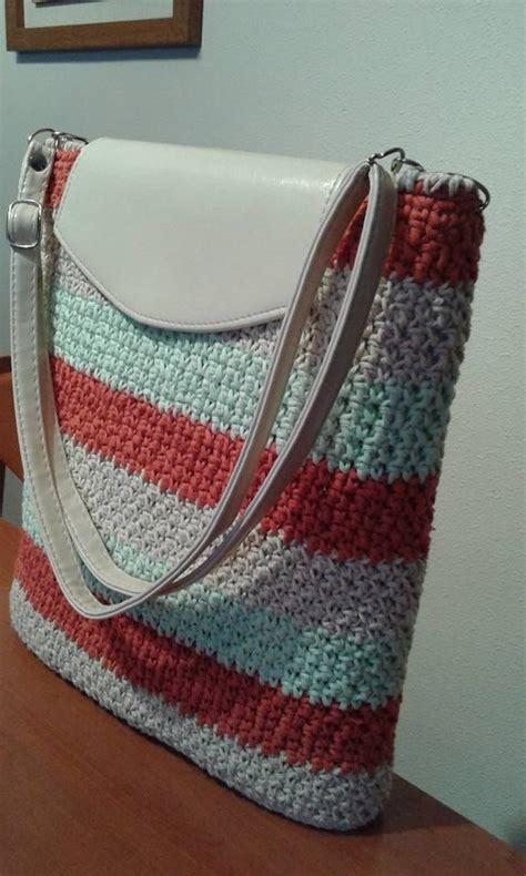 Tas Rajut Handbag 2 Ruang 6112 best crocheted bags images on