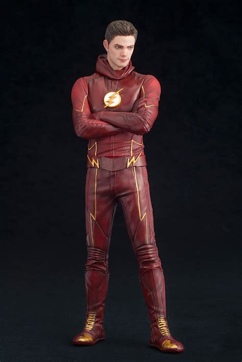 flash tv series flash artfx statue figure