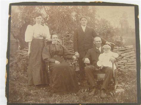 1800s L by Antique Family Photo Portrait 1800s Pa Lancaster County