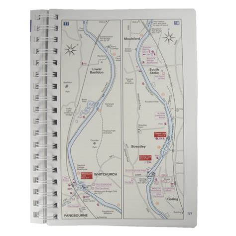 thames river navigation map river thames book seventh edition sheridan marine
