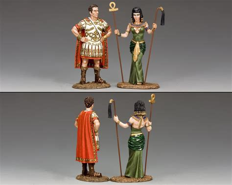 Cleopatra Set2 antony cleopatra set figurines et collections
