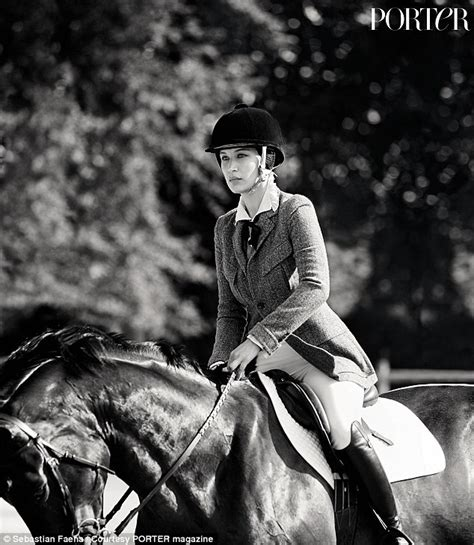 yolanda foster horse riding bella hadid reveals plans to compete in the rio olympics
