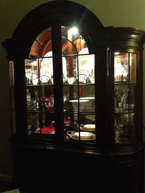 how to decorate a china cabinet my china cabinet display decorating dining room