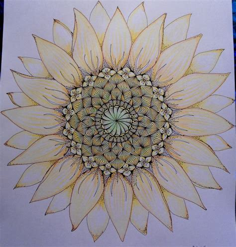 sunflower doodle god best 25 sunflower mandala ideas on