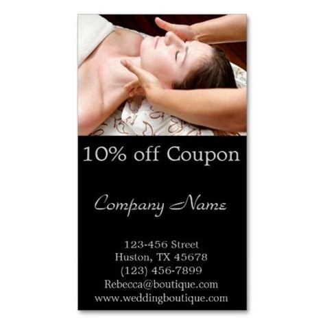 Spa Gift Card Groupon - 231 best images about spa business cards on pinterest business card templates