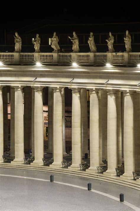 illuminazione a roma nuova illuminazione a roma per piazza san pietro le