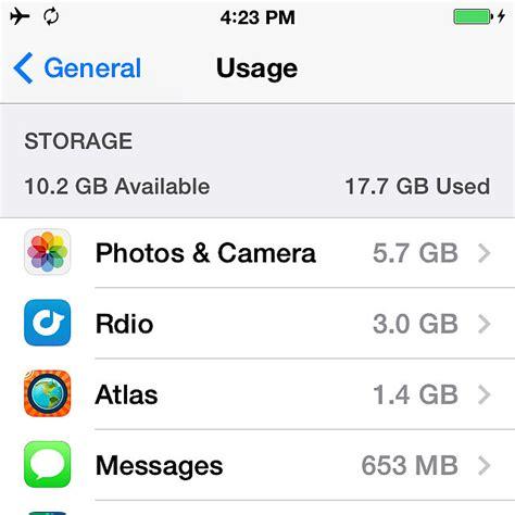 iphone storage popsugar tech
