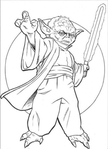 printable coloring pages of yoda yoda coloring pages star wars character yoda coloring