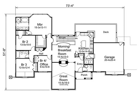 atrium ranch floor plans atrium ranch home plan 57226ha ranch traditional 1st