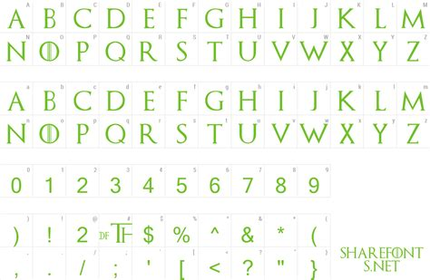 font game  thrones