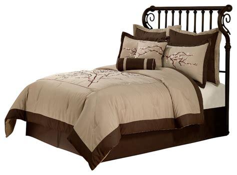 Zen Bedding Sets Zen Blossom Comforter Set With 4 Bonus Pieces Asian Comforters And Comforter Sets By