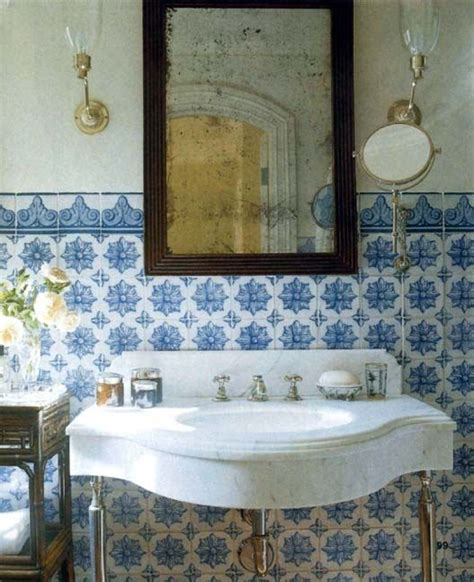 spanish tiles bathroom designs spanish tile bathrooms pinterest