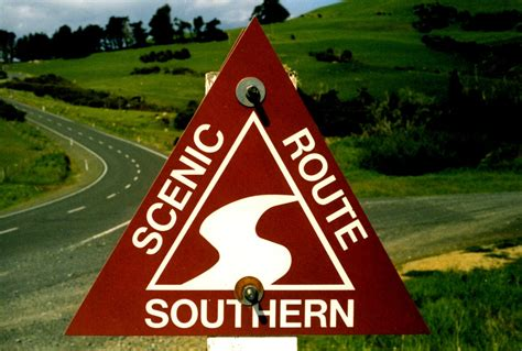 Nz Phone Number Lookup New Zealand Southern Scenic Route Aaroads Shield Gallery
