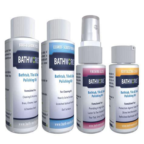Bathworks Diy Bathtub Refinishing Kit Reviews by Polishing Care Kit