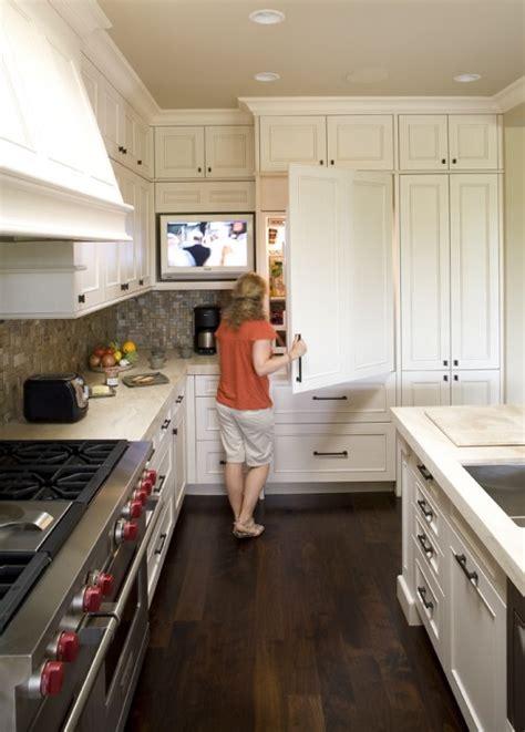 tv  kitchen transitional kitchen mueller nicholls