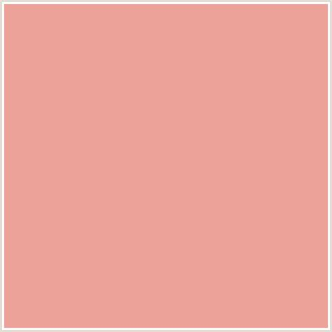 colours that go with peach eca299 hex color rgb 236 162 153 red sea pink