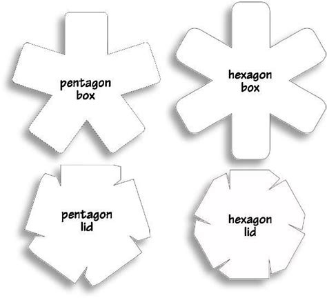 hexgonal card template 28 images of exploding gift box template infovia net