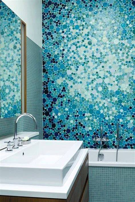 mosaic tile bathroom ideas 40 blue mosaic bathroom tiles ideas and pictures
