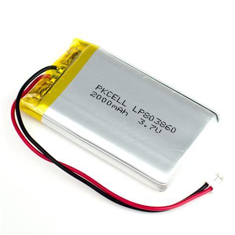 Batery Lipo lipo battery pack pimoroni