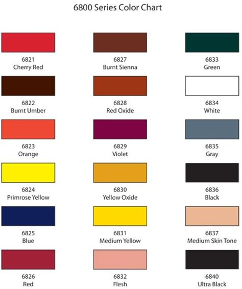 what color is umber 6822 burnt umber pigment