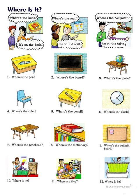where is it worksheet free esl printable worksheets