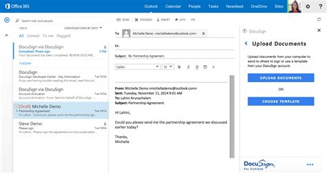 Office 365 Outlook Compatibility Docusign For Outlook Docusign