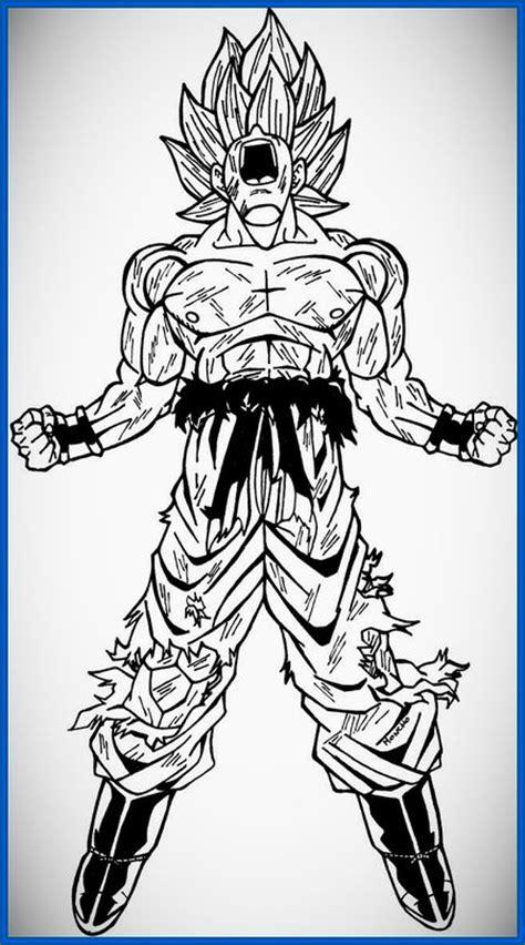 imagenes goku herido imagenes de dragon ball z dibujos para imprimir dibujos