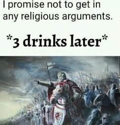 deus vult heathen by animancer meme center