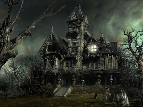 wallpapers horror house wallpapers