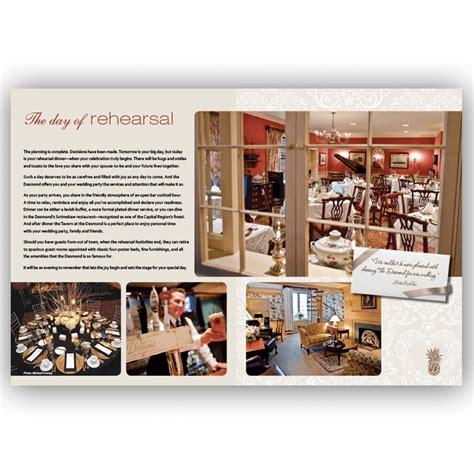 Wedding Marketing Brochure by Brochure Design Award Winning Effective Blass Marketing
